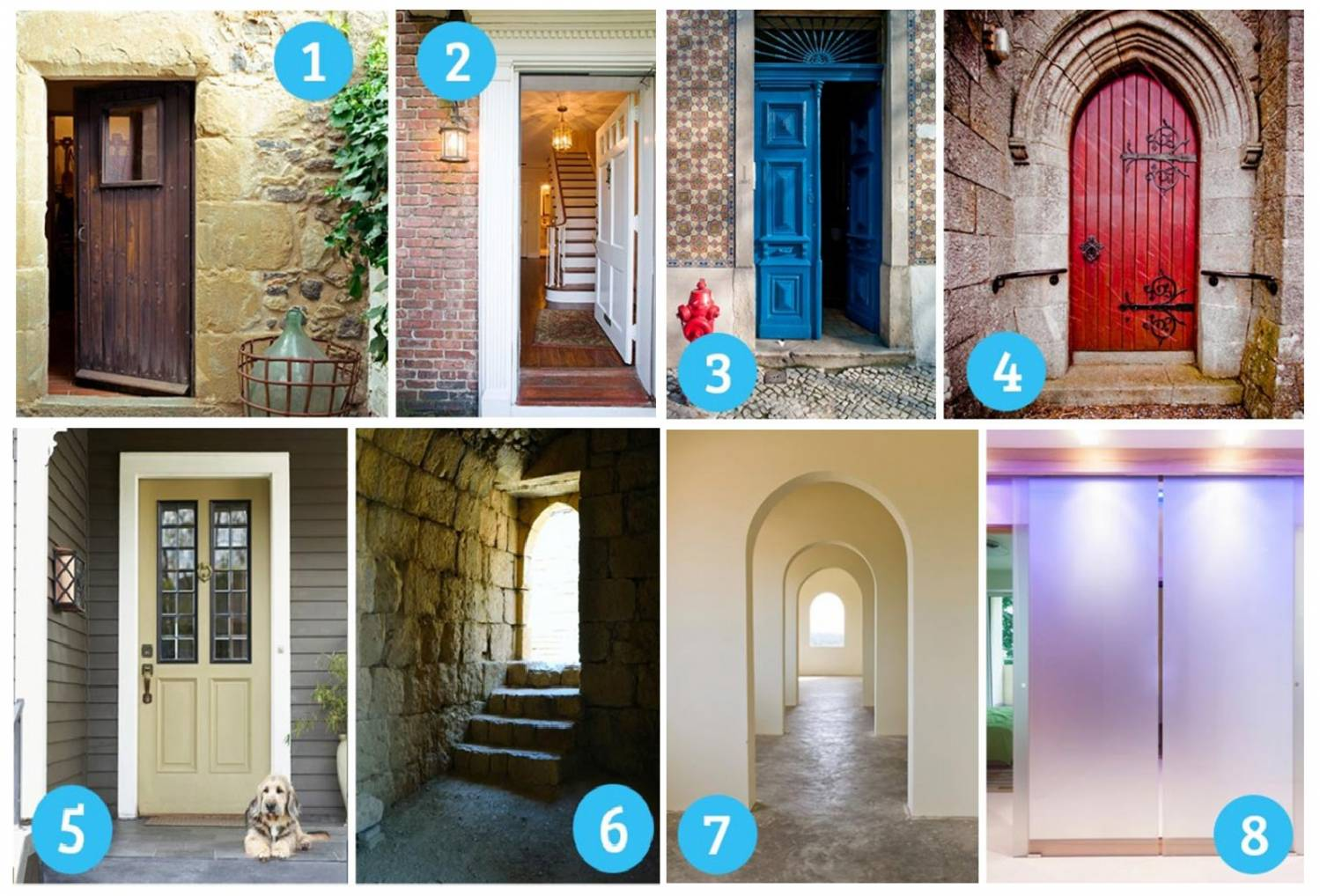 Тест: выберите дверь и узнайте, что вы за человек