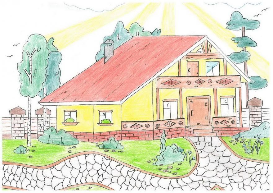 Картинки по запросу Дом, дерево, человек – тест, который вас удивит!