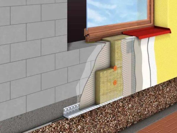 Положительное отличие неутеплённой стены от утеплённой