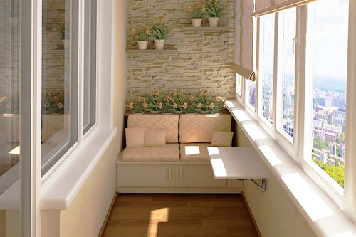 Особенности профессионального ремонта балкона
