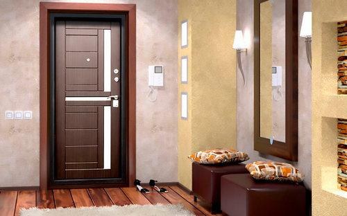 Металлические входные двери и их главные свойства