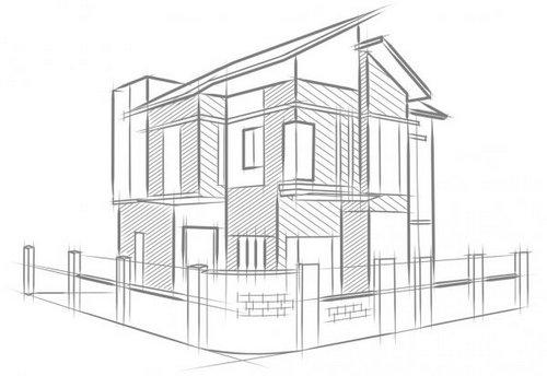 Плюсы индивидуального проектирования домов